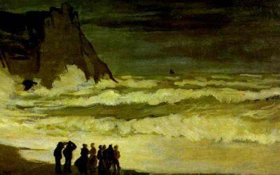 Aburridos en el mar agitado