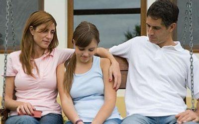 Hable con sus hijos